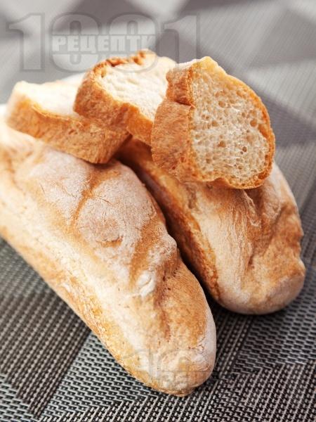 Пшенични багети - снимка на рецептата